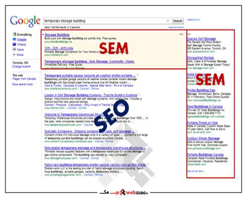 SEM چیست؟ تفاوت آن با SEO در چیست؟