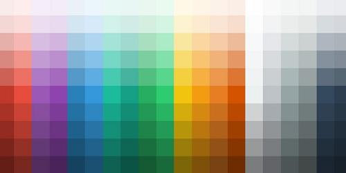 رنگ بندی در طراحی وب سایت