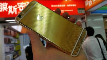 آيفون-6-و-6-پلاس-با-پوشش-پشتي-طلاي-24-عيار